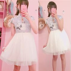 Sweet cat tutu dresses
