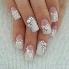 want these nails for my wedding!