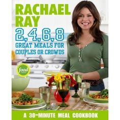 I actually have most of her cookbooks, as her recipes are pretty dang easy to follow and pretty flavorful as well. However, I find her a whole lot like me: sometimes too overly peppy and cheery which leads to sort of annoying. Yeah, I said it. Well done, Rach!
