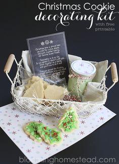 Christmas Cookie Decorating Kit