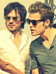Salvatore Bothers - Damon Salvatore x Stefan Salvatore - Ian Somerhalder x Paul Wesley