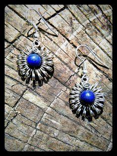 Wire Wrapped Jewelry, Wire Jewelry, Jewellery, Bead Embroidery Jewelry, Beaded Embroidery, Stone Wrapping, Wire Wrapping, Beaded Ornaments, Wire Earrings
