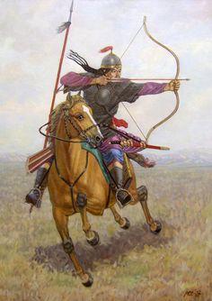 Mongol Steppe archer