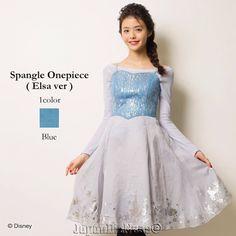 On Sale New Japan Secret Honey Disney LE Elsa from Frozen Spangle Dress #JapanDisneyStore