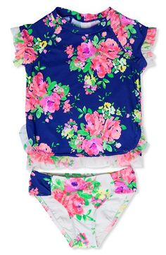 Hula Star 'Romance' Two-Piece Swimsuit (Toddler Girls & Little Girls) available at #Nordstrom