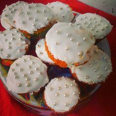 Cupcakes de Natal e participação no passatempo da Sidul  Nigella´s christmas cupcakes adapted to thermomix