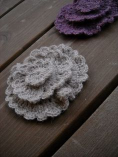 lovely crochet flower