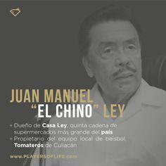 Juan Manuel El Chino Ley, empresario dueño de Casa Ley y propietario de los Tomateros, murió en enero del 2016