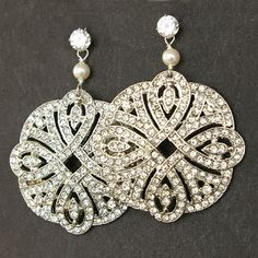 Dazzling Deco earrings