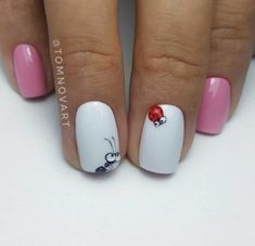 Expand style to your nails with the help of nail art designs. Donned by fashion-forward stars, these kinds of nail designs will incorporate immediate elegance to your outfit. 3d Nails, Manicure And Pedicure, Cute Nails, Pretty Nails, Nail Nail, Music Nails, Nail Polish, Coffin Nails, Spring Nails