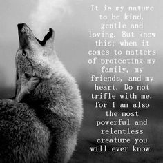 wolf quotes about strength - Google Search