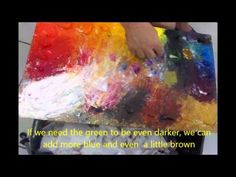 Leonid Afremov Mixing Colors - YouTube