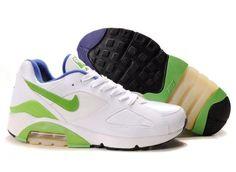 finest selection fb5b1 7a262 Nike Air Max 180 Mens White Green Black Trainers Nike Air Jordan 11, Nike  Max