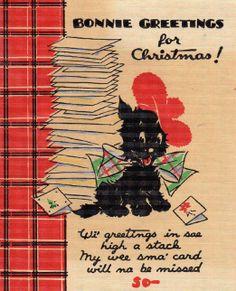 Vintage christmas vintage dogs pinterest scottish terrier vintage christmas vintage dogs pinterest scottish terrier xmas greeting cards and xmas greetings m4hsunfo
