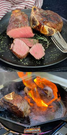 Check out the best grilled filet mignon recipes and learn how to cook a bone in filet mignon now! #grillingtips #grillingrecipes #filetmignon #filetmignonrecipes #steakrecipes Good Steak Recipes, Grill Recipes, Potluck Recipes, Barbecue Recipes, Beef Recipes, Grilling The Perfect Steak, Omaha Steaks, Tenderloin Steak, Cookout Food