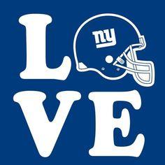 Love Giants * New York, NFL, Funny