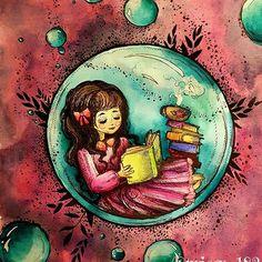 Ticket to dreams coloring book by: @kubikowska.emilysmoose Daniel Smith, Schminke, W&N watercolors #tickettodreams #tickettodreamscoloringbook #podrugiejstroniesnu #karolinakubikowska #theothersideofdream #adultcoloringbook #coloringbook #coloringforadults #coloringforgrownups #winsorandnewton #kolorowaniedladorosłych #kochamkolorować #kolorowamafia #danielsmithwatercolors #schminke