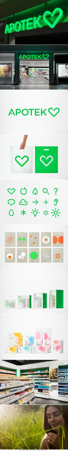 Brand ID design for Apotek Hjärtat nice bag! please check out our website…