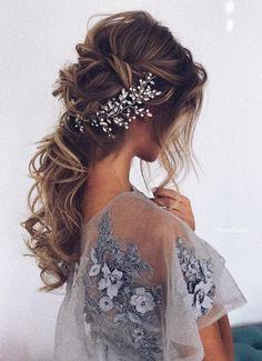Coiffure De Mariage : Featured Hairstyle:Ulyana Aster;www.ulyanaaster.com; Wedding hairstyle idea.