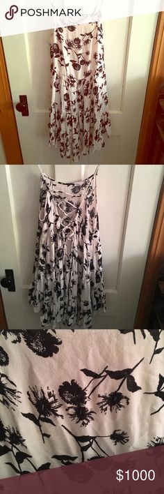 Free People Dandelion Circle Slip Dress I'm looking for trade only--- this is a xtra small and I'm looking for small, medium or even large in this same print. I will also trade for dandelion trapeze dress any color. Thank you!! Also if anyone see this please tag me 😊😍🌸🦄🌈 Free People Dresses Mini