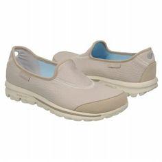 Skechers Fitness Go Walk Shoes (Natural) - Women's Shoes - 5.5 M