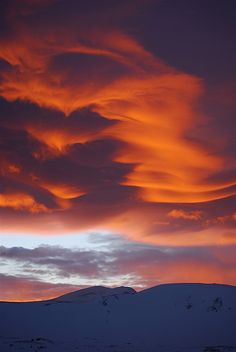 Sunset / Colorado, Loveland Pass