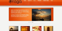 Port Douglas Yoga - Top of Site. The owner of the site lost their domain. So we quickly had to acquire a new, rapidly develop a new site, SEO the site so it outranked old domain. This is the top of the page. It features a slider for news and other info as well as four main areas,  About | Q&A | About Teachers | Where & When. Tied to google mapping where classes and events are held with direction tool and scheduling for classes and events