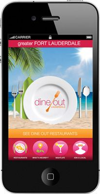 Fork Lauderdale dining app:   Explore Greater Fort Lauderdale's culinary and nightlife scene, including romantic waterfront restaurants, trendy steakhouses, Sunday brunches, sports bars, wine bars and more