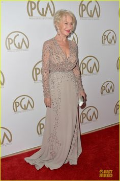 Helen Mirren & June Squibb - Producers Guild Awards 2014   helen mirren june squibb producers guild awards 2014 09 - Photo