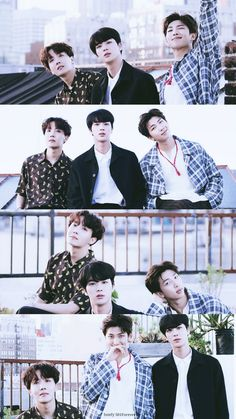 J-HOPE, JIN & RM