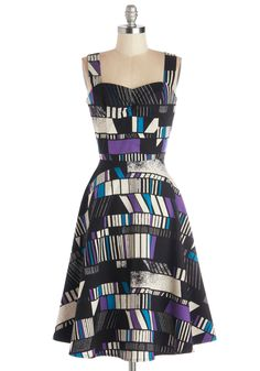 Cotton, Woven, Long, Print, Party, A-line, Sweetheart, Multi, Blue, Purple, Black, White, Tank Top