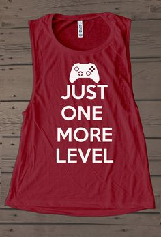 Girl Gamer Shirt| Tank Workout| Funny Gaming Shirt| Exercise Clothing| Activewear| Muscle Tee For Women| Geek Girl Shirt| Geeky Gift| Nerdy