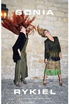 The Sonia Rykiel spring-summer campaign. [Photo by Juergen Teller]