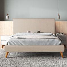 Atticus Daybed & Reviews | AllModern Best Platform Beds, Low Platform Bed Frame, Modern Platform Bed, Upholstered Beds, Upholstered Platform Bed King, Bed Reviews, Wood Beds, Adjustable Beds, Panel Bed