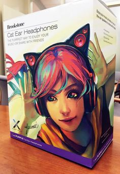 Axent Wear, those cat-ear headphones with LEDs and external speakers, are finally going on sale! Geek Jewelry, Gothic Jewelry, Cat Headphones, Comic Clothes, Future Girlfriend, Anime Reccomendations, Otaku, Really Cool Stuff, Nerd