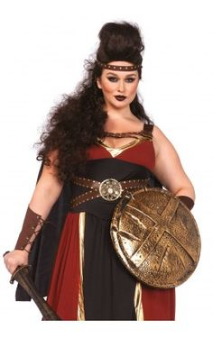 Disfraz sexy medieval de tallas grandes