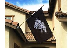 Game of Thrones House of Stark Flag | Absolute Home