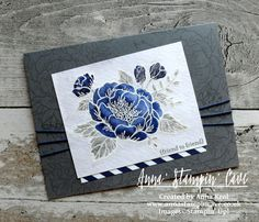 Anna' Stampin' Cave_Stampin' Up! Birthday Blooms Stamp Set_Watercolour Card_Basic Grey Night Of Navy 2.JPG