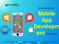 Best Mobile App Development Services By DreamSoft4u