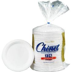 """Chinet Paper Lunch Plates, 8 3/4"""", 225 Count Chinet http://www.amazon.com/dp/B0023XJ3QY/ref=cm_sw_r_pi_dp_8Qwwub0E2ZTJ1"""