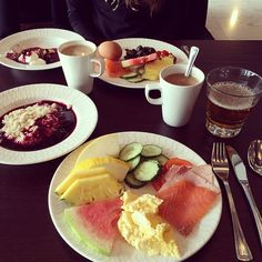 Långvik Breakfast http://www.langvik.fi/en Instagram photo by @saaraahlberg (Saara Ahlberg ) | Iconosquare
