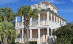 This vacation home was our 1st try on HomeAway and VRBO.  It is not listed there anymore.  We stayed here in December 2009 for a week, and had a wonderful time.  We had several families there, and the extra carriage house was nice.  Very equipped home, with a short walk to the beach.