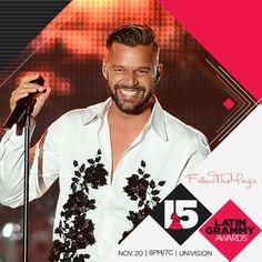#LatinGrammys #RickyMartin 2014