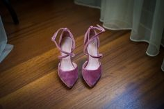 Terciopelo rosa Velvet Shoes, Lace Up, Flats, Fashion, Pink, Templates, Bridal, Loafers & Slip Ons, Moda