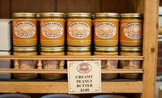 Must try: Columbus' Krema Nut Company's peanut butter. They've been making it since 1898!