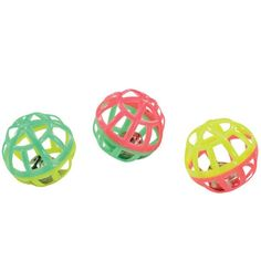 Lot Of 8 Lattice Jingle Balls Cat Toys Two Tone Plastic Ball Metal Jingle Ball -- Details can be found by clicking on the image. (This is an affiliate link and I receive a commission for the sales) #CatCare