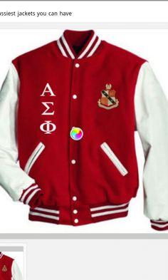Letter jacket.... Yes!