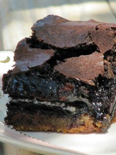 Slutty Brownies  . . . .