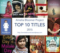 "Amelia Bloomer Project - The ABP is run by librarians and provides annotations of books for babies to 18-year-olds that have a strong air of feminism. While a ""top 10"" are chosen each year, the information about the other nominees are still available. Due to the nature of the topic, it would be a good idea to order these titles."