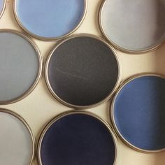 We love Dulux's Colour of the Year 2017, Denim Drift. From deepest ink to pale…